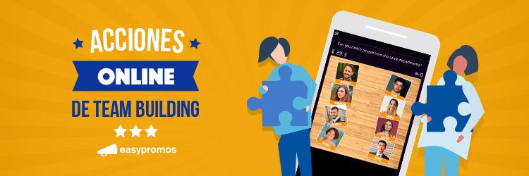 acciones online de team building