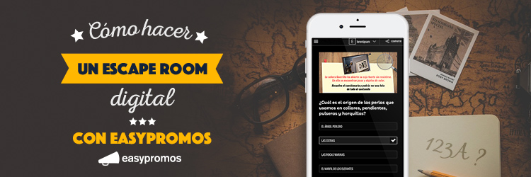 hacer escape room virtual con easypromos