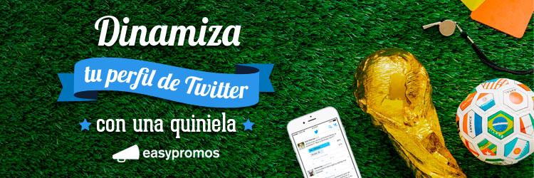 quiniela del mundial de futbol en Twitter