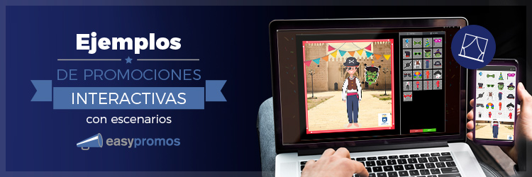 promociones interactivas con escenarios
