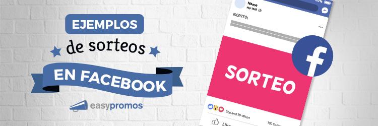 ejemplos de sorteos en facebook