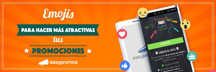 usar Emojis para hacer más atractivas tus promociones