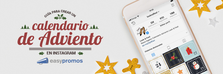 Calendario de Adviento en Instagram