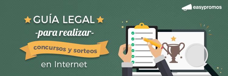 guia legal realizar concursos y sorteos en internet