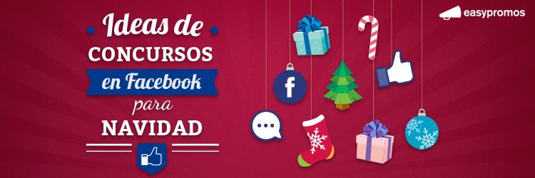 concursos en Facebook para Navidad