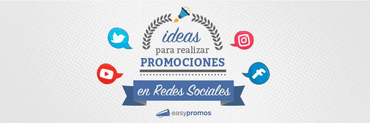 ideas para realizar promociones en redes sociales