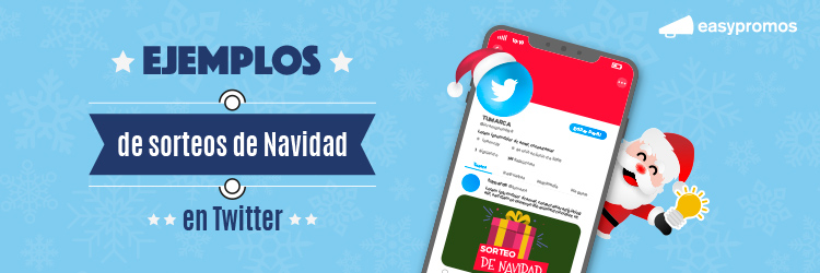 sorteos de Navidad en Twitter
