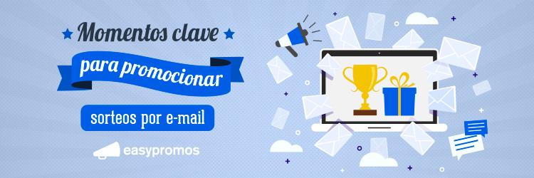 promocionar sorteos por email