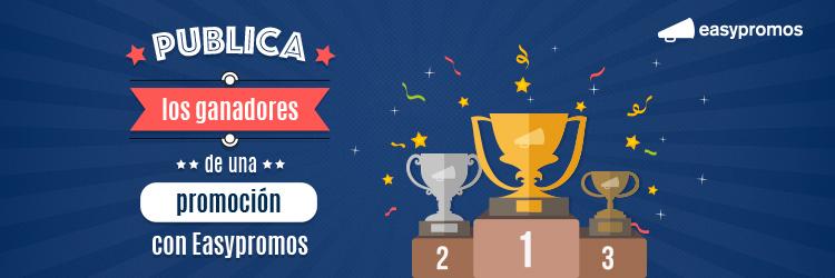 header publica los ganadores de una promocion con easypromos