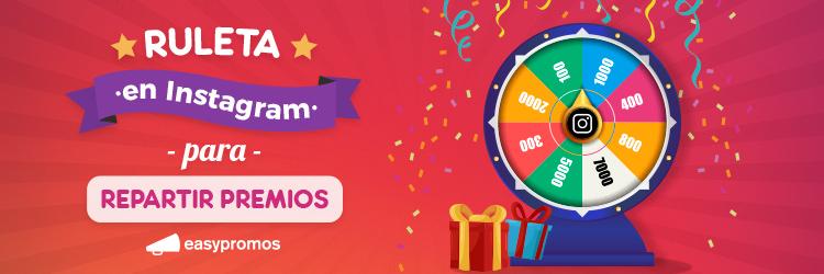 ruleta instagram para repartir premios