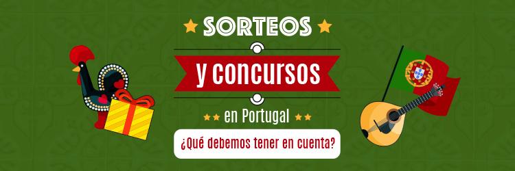 Sorteos y concursos en Portugal