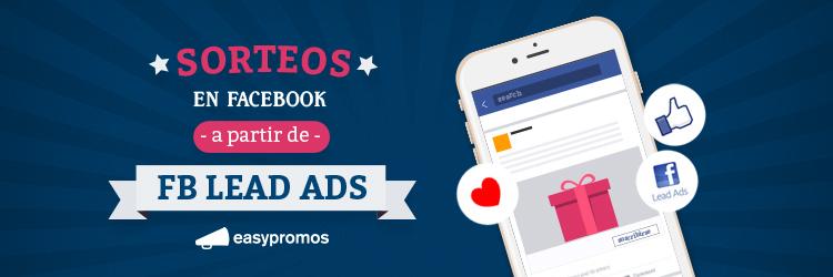 header sorteos en facebook a partir de facebook lead ads