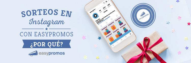 sorteos en instagram con easypromos