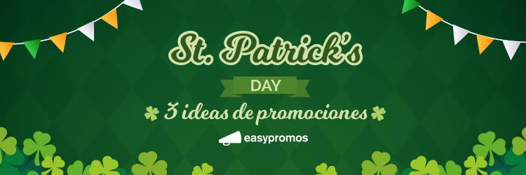 ideas de promociones de St. Patrick's Day