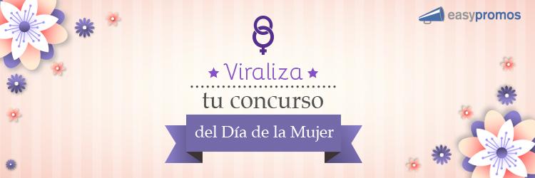 header viraliza tu concurso dia mujer