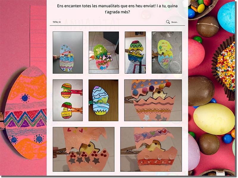 ejemplo de concurso de fotos con huevos de pascua