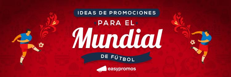 promociones para el mundial de fútbol