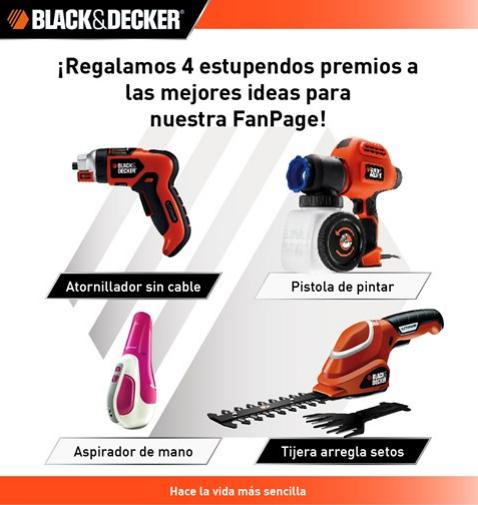Promocion Black & Decker