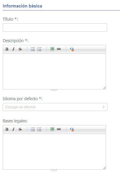 Easypromos - Informacion basica usuario
