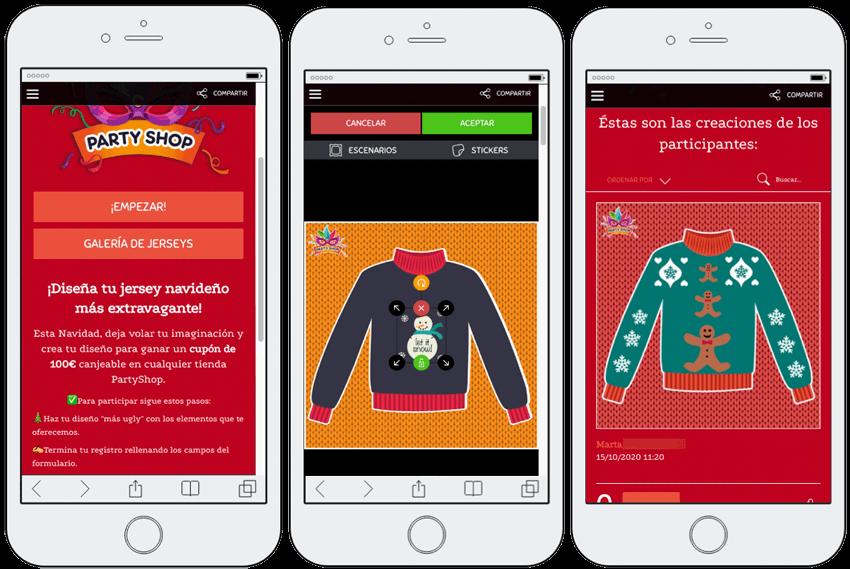 app promocion creacion jerseys personalizados