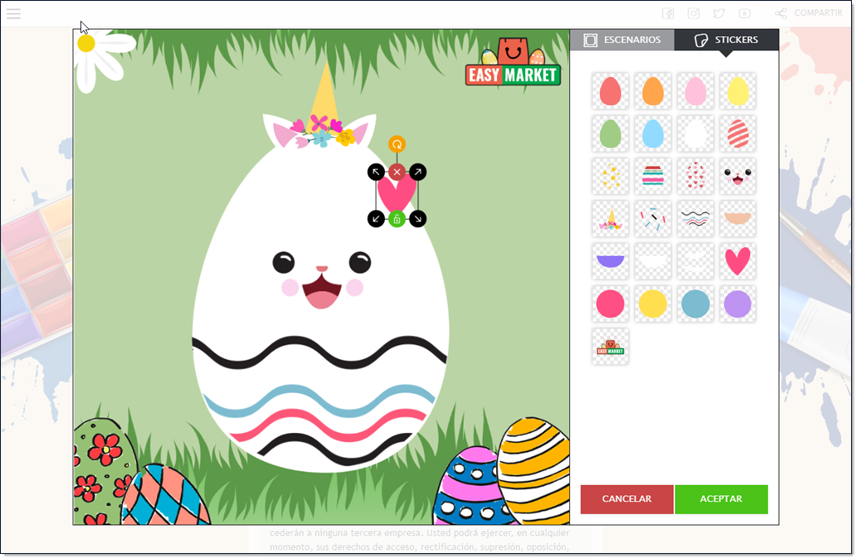 juego de pintar huevos online