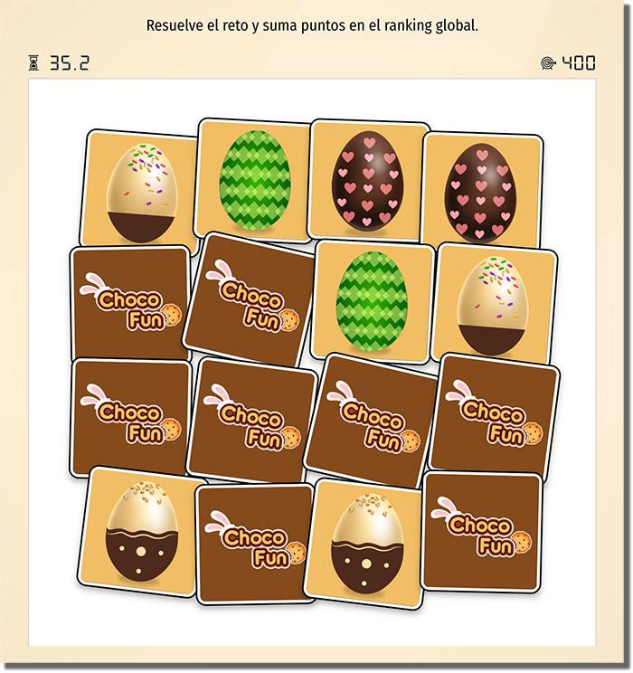 ejemplo de memory de Pascua