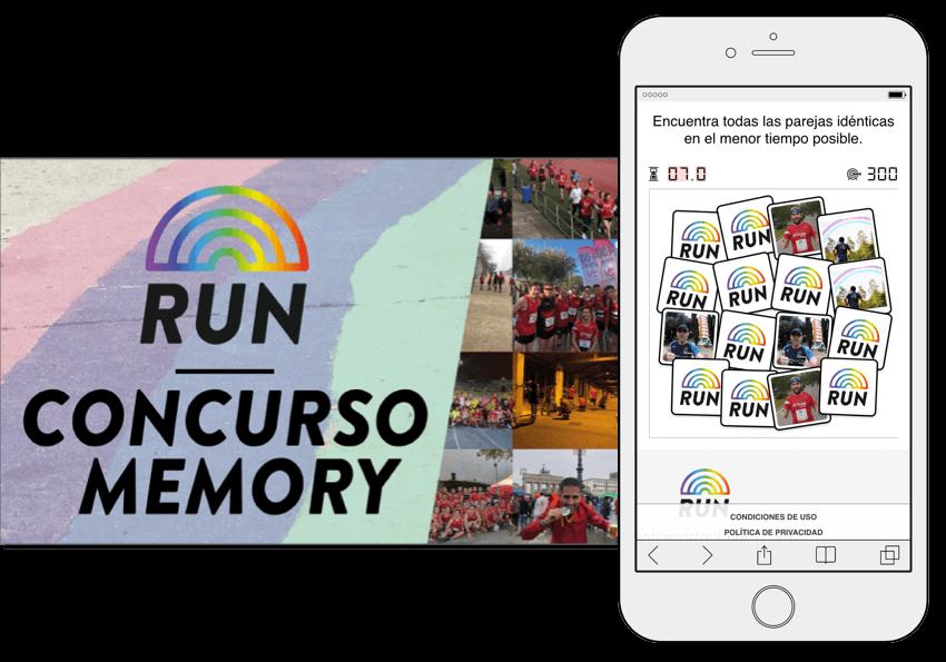 concurso memory dinamizar participantes running