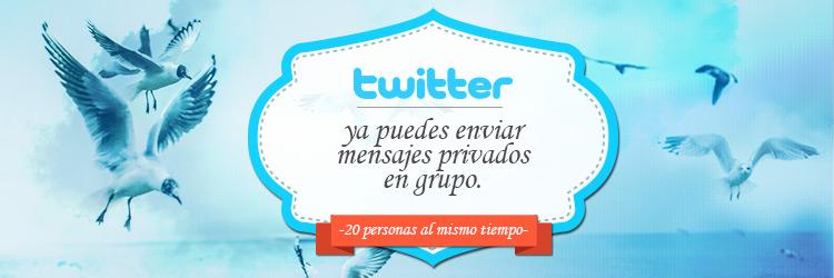 mensajes privados twitter