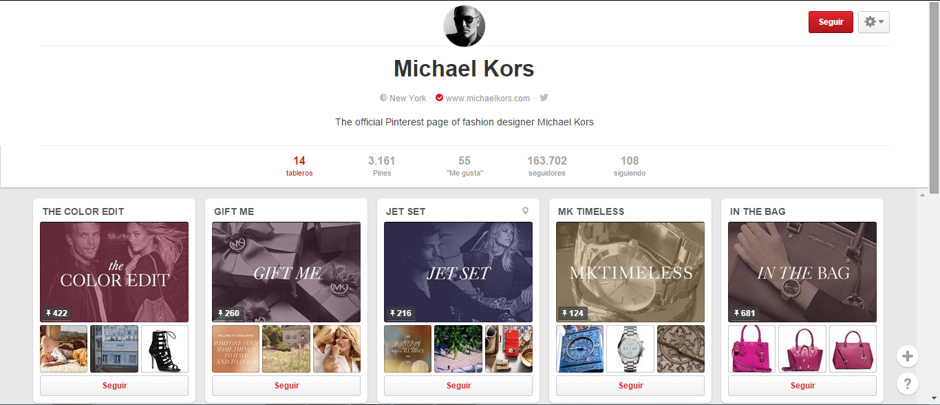michael catalogo pinterest