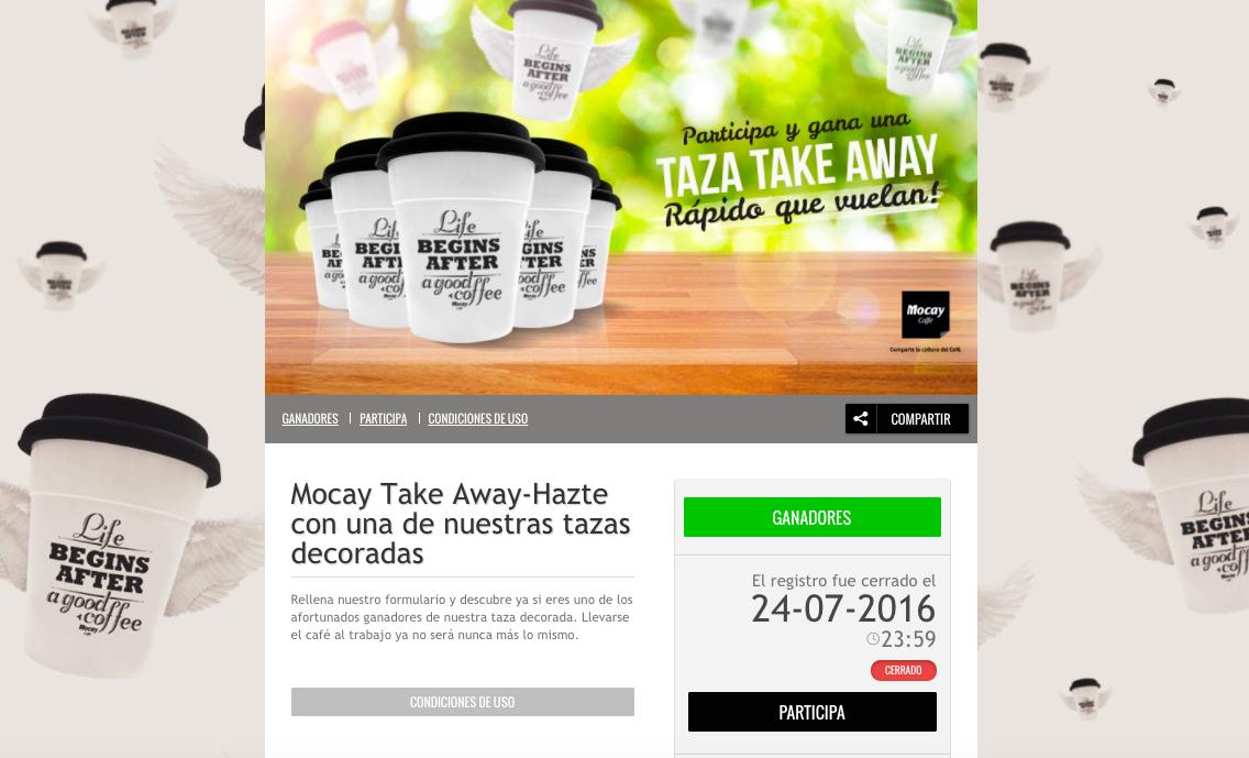 mocay caffe promocion