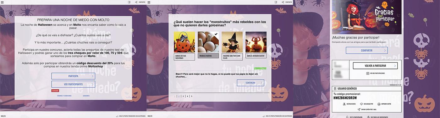 ejemplo Halloween molto