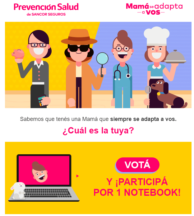 newsletter promo dia madre