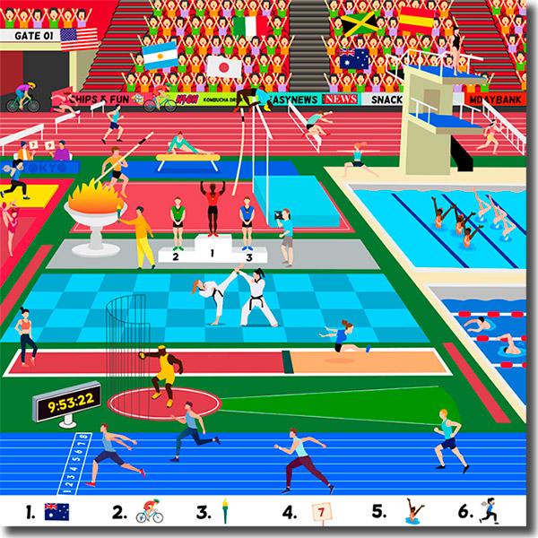 juego de las olimpiadas
