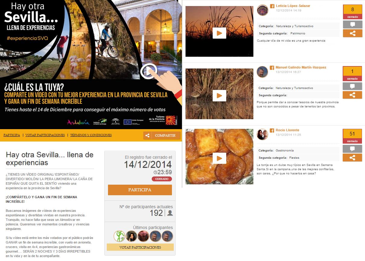 5 ejemplos de promociones online sobre turismo for Paginas web sobre turismo