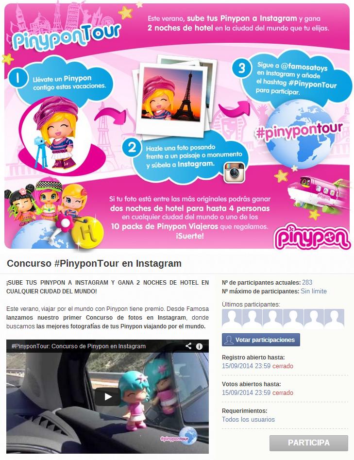 página inicial pinypon