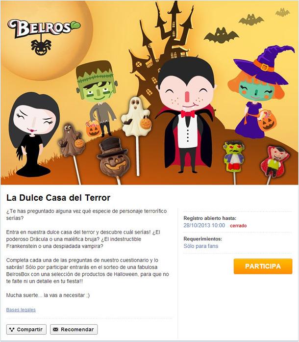encuesta de Halloween Belros