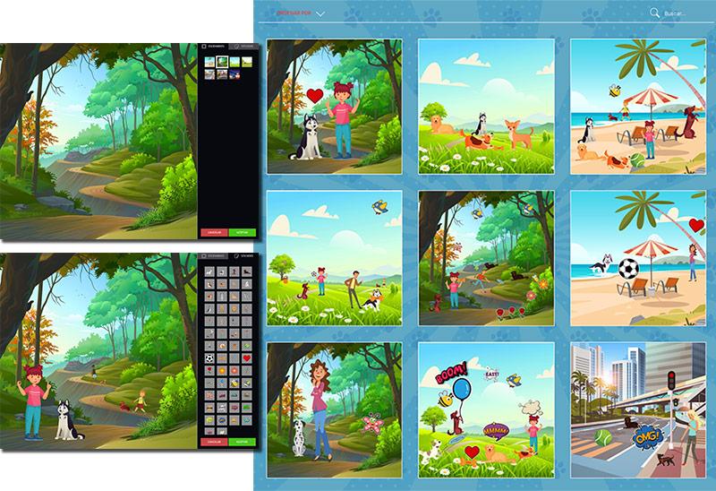 ejemplo de juego interactivo