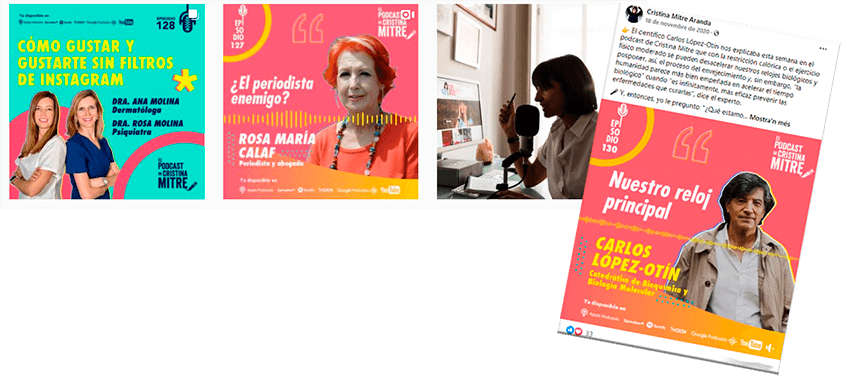 podcast Cristina Mitre
