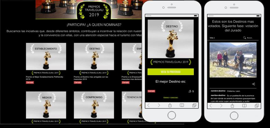 premios online travelguau