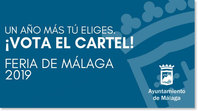vota tu favorito cartel feria malaga