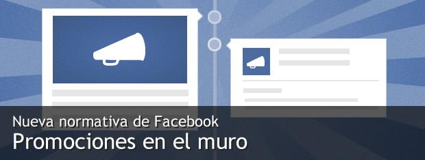 Actualizacion de la politica de promociones de Facebook