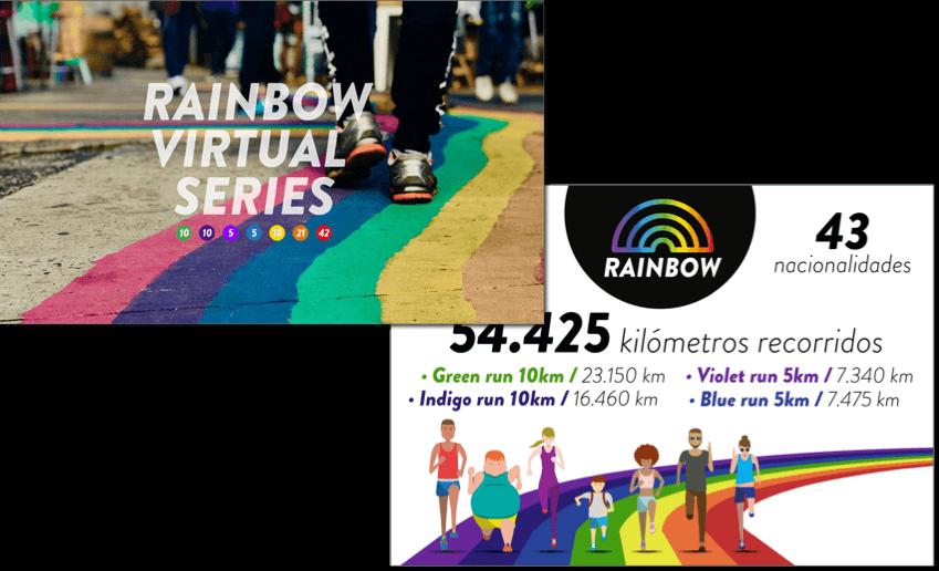 rainbow running series