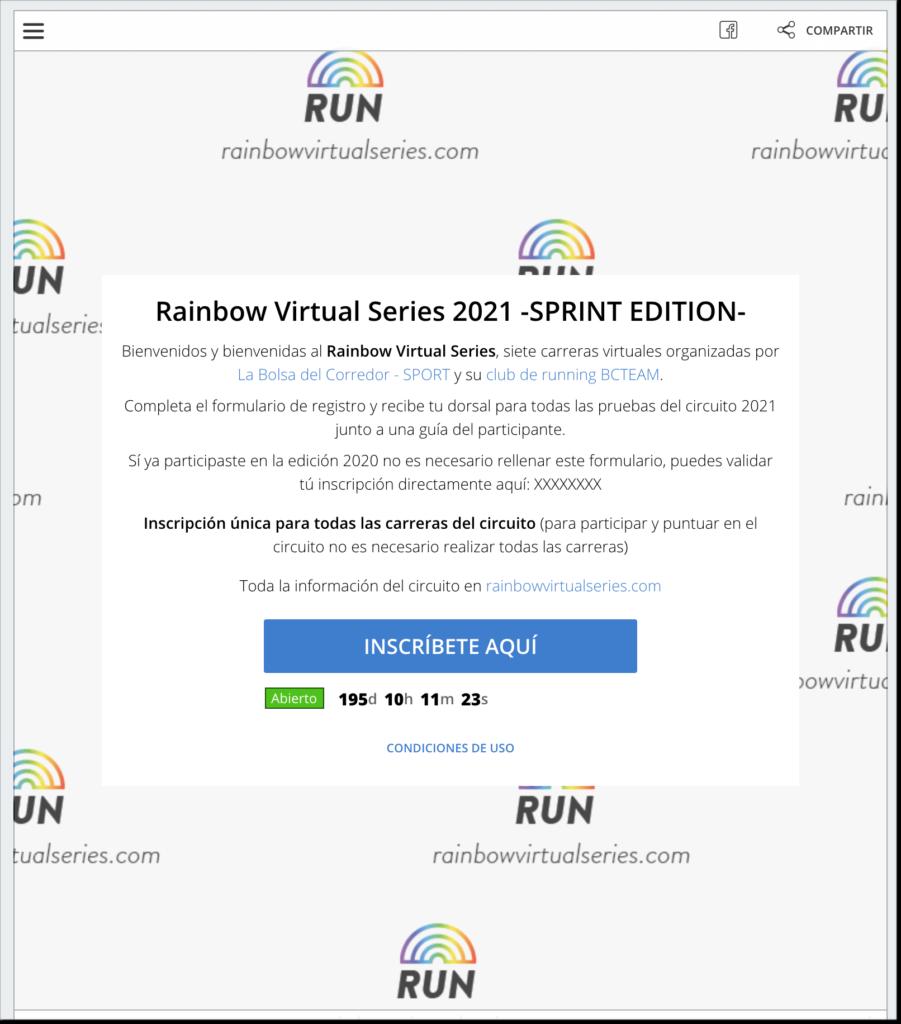 registro carreras virtuales running