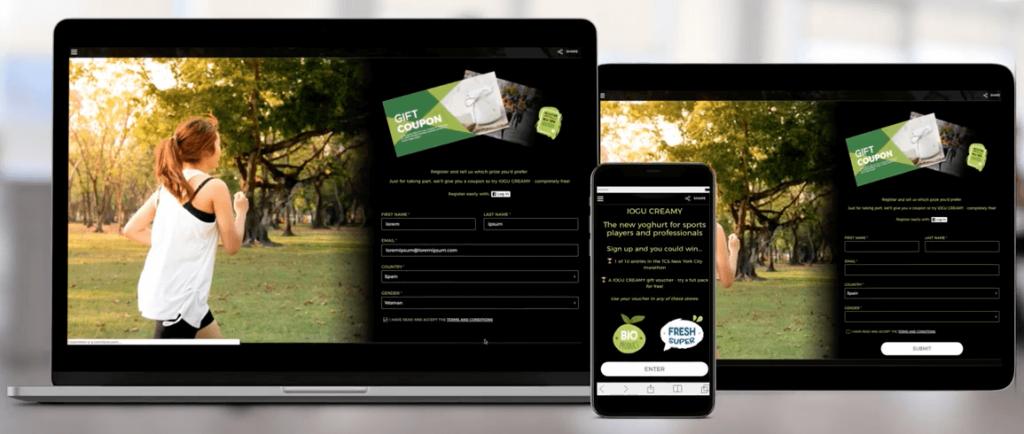 diseño responsive apps promocionales