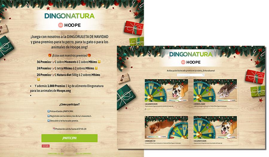 Concurso de mascotas online de Dingonatura