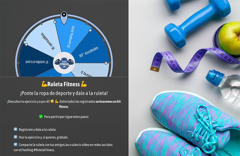 ruleta de ejercicios