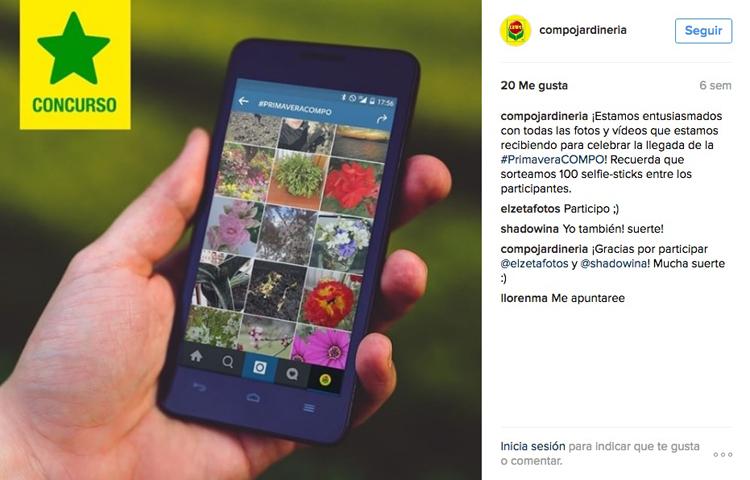 ejemplo concurso de hashtags