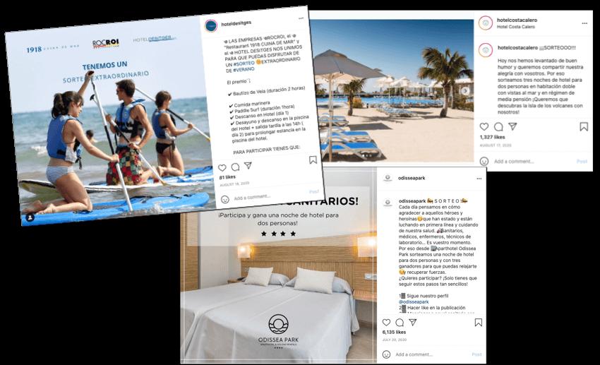 sroteos instagram hoteles
