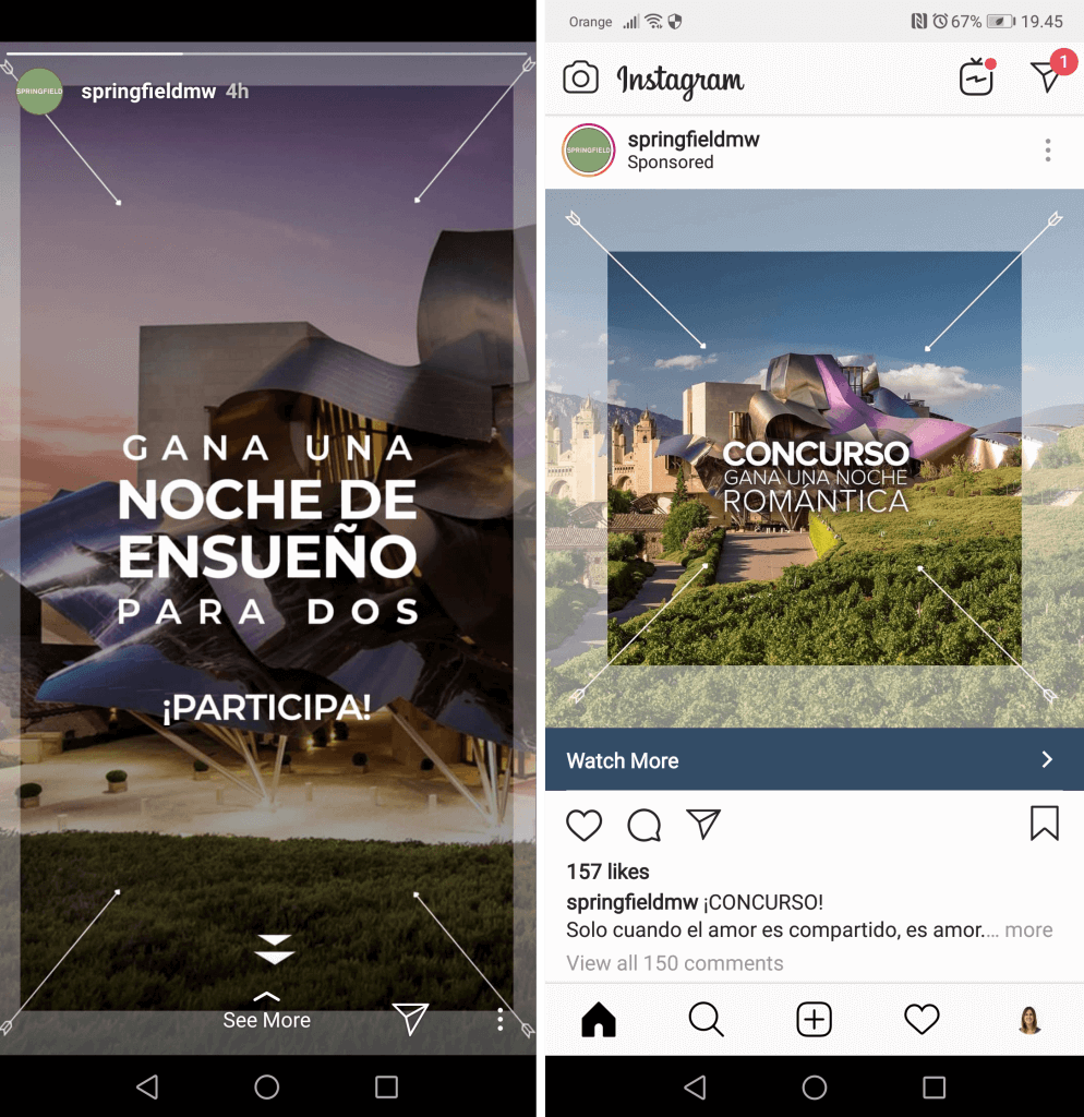 stories participar sorteo instagram
