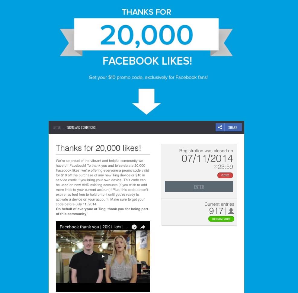 ting_campaña_online_fidelizacion